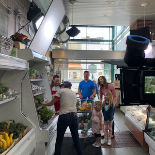 On location at Public Market