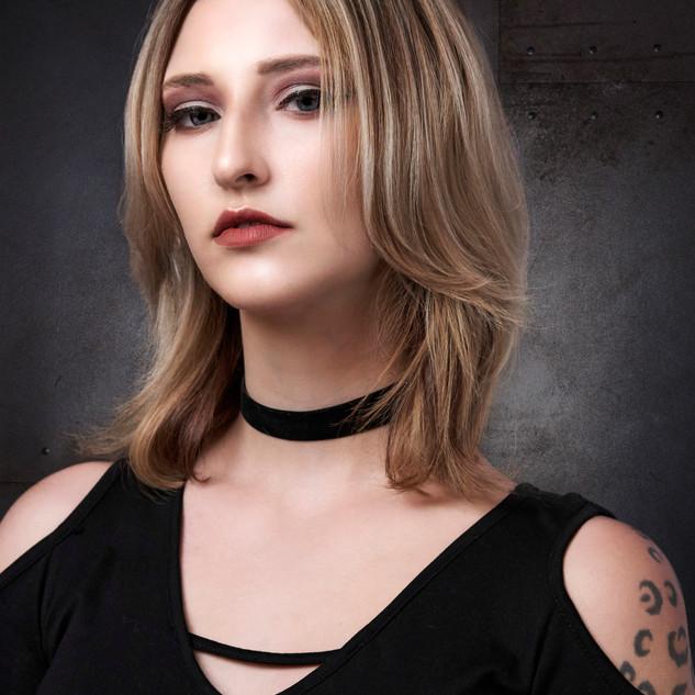 Hair Bridgette Hardy  . Makeup Jaime Gr