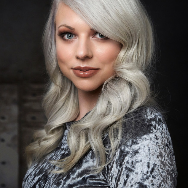 Hair Bridgette Hardy. Makeup Shelley Bea