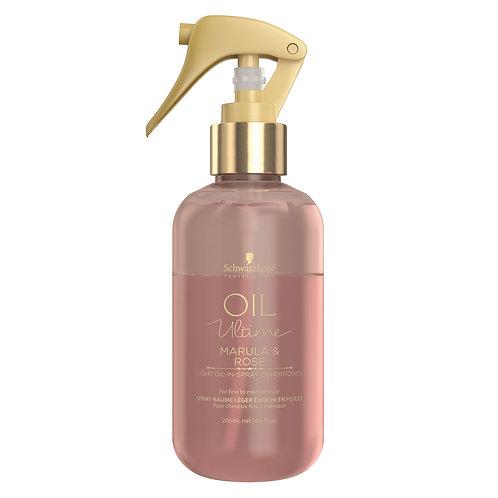 Oil Ultime Light Oil-In-Spray Conditioner 200 ml Marula & Rose