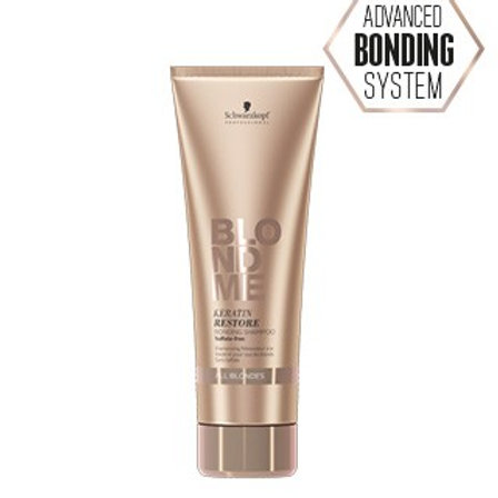 BLONDME Keratin Restore Bonding Shampoo - 250 ml