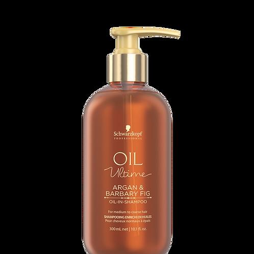 Oil Ultime Light Oil-in-Shampoo 300 ml Argan & Barbary Fig