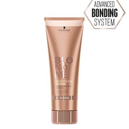 BLONDME Detoxifying System Purifying Bonding Shampoo - 250 ml