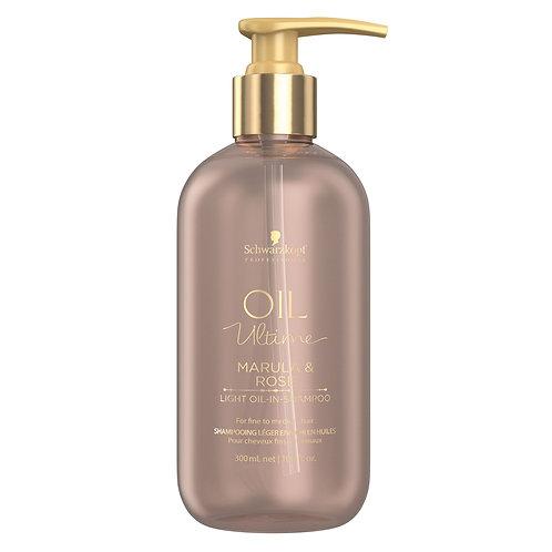 Oil Ultime Light Oil-in-Shampoo 300 ml Marula & Rose