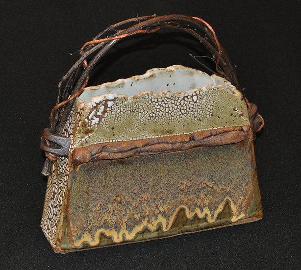 Stoneware Basket - SOLD