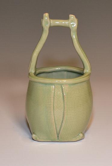 Celadon Basket