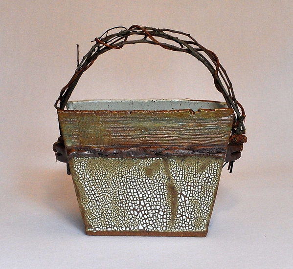 Stoneware Basket - SOLD