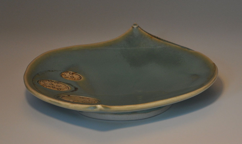 Petal Plate - Oxidized Plum    SOLD