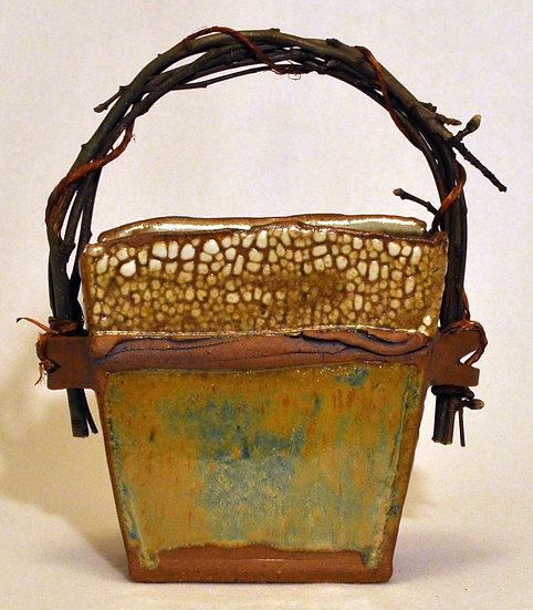 Stoneware Basket - Medium - SOLD