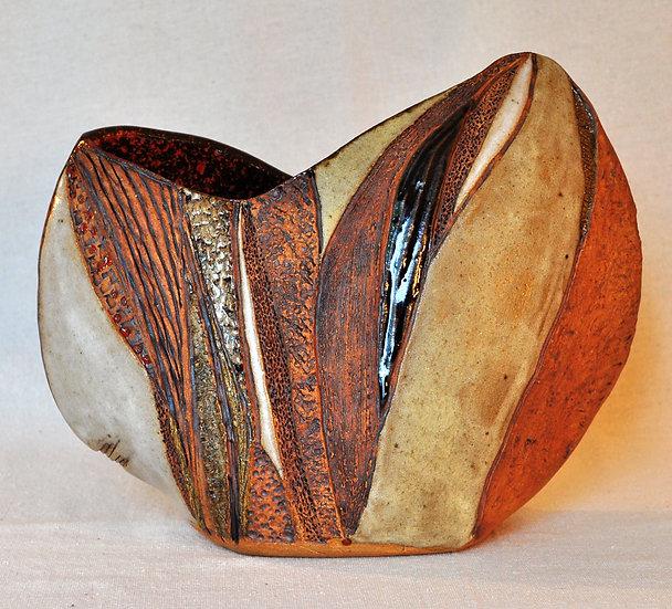 Carved Vessel - open   - SOLD