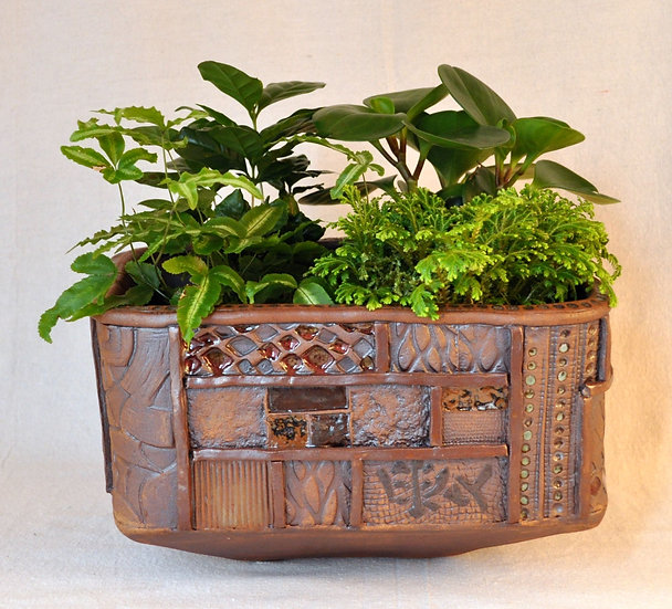 Ordered Earth Planter - Large - SOLD