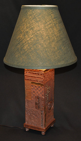 Stoneware Lamp - SOLD