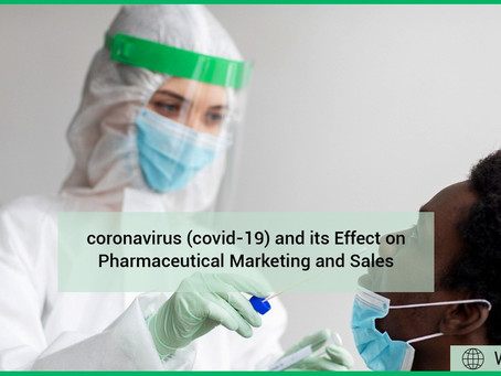 Coronavirus (COVID-19) and Its Effect on Pharmaceutical Marketing and Sales