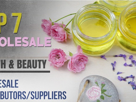 Top 7 Wholesale Health and Beauty Products Distributors/Suppliers