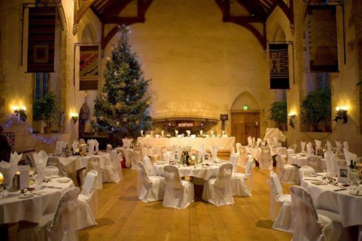 wedding venues devon dartington christmas.png