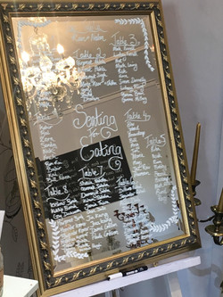 Mirror and Gold Frame
