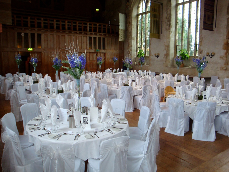 wedding venues devon dartington tables.jpg