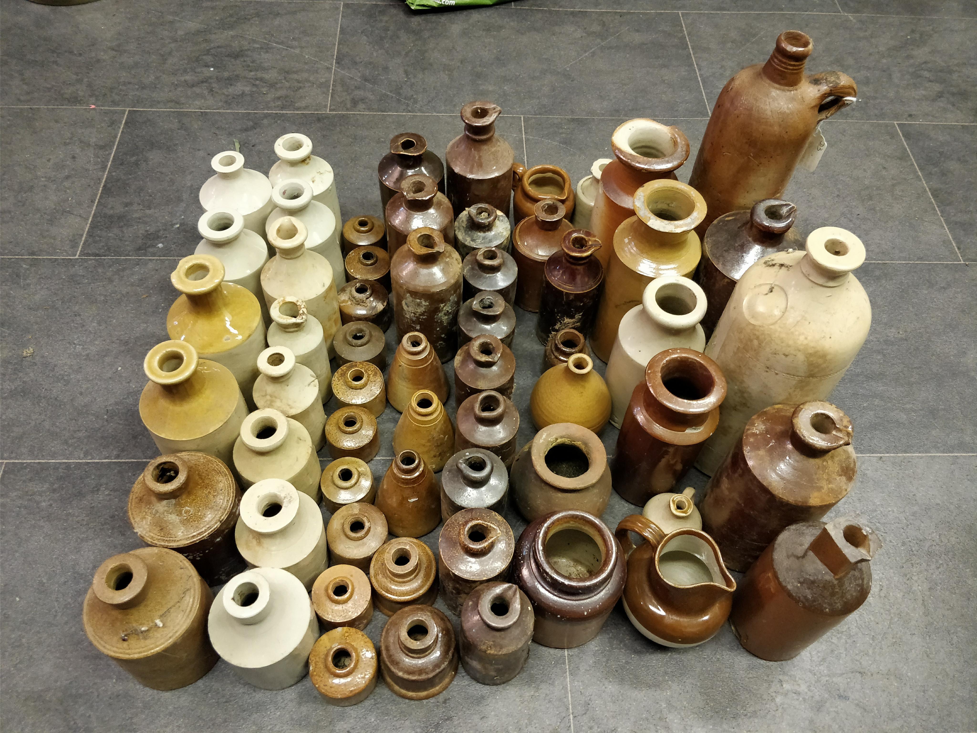 Mixture of Clay Pots