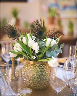 Peach/Copper Lantern or Vase