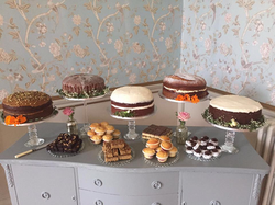 Cake Buffet stands and Side Board