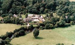 wedding venues devon bickleigh castle aerial view.jpg
