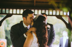 wedding photographers devon first kiss.jpg