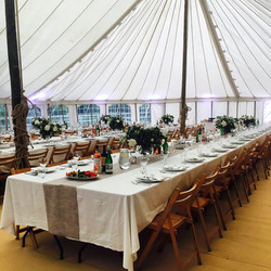 Canvas Pole Marquee