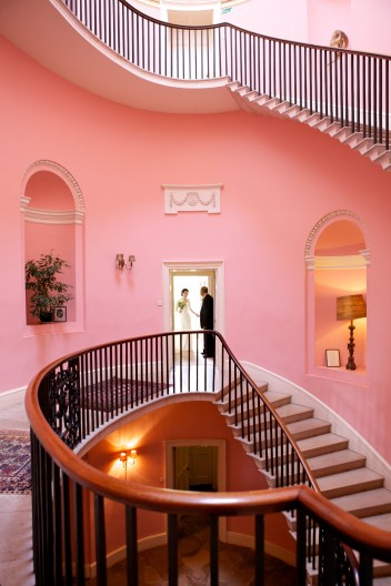 Wedding Photographer Devon  stair case.jpg