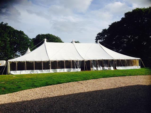 TraditionalMarquee 30ft x 70ft £1996