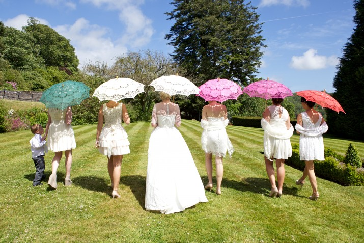 Wedding Photographer Devon umbrellas.jpg