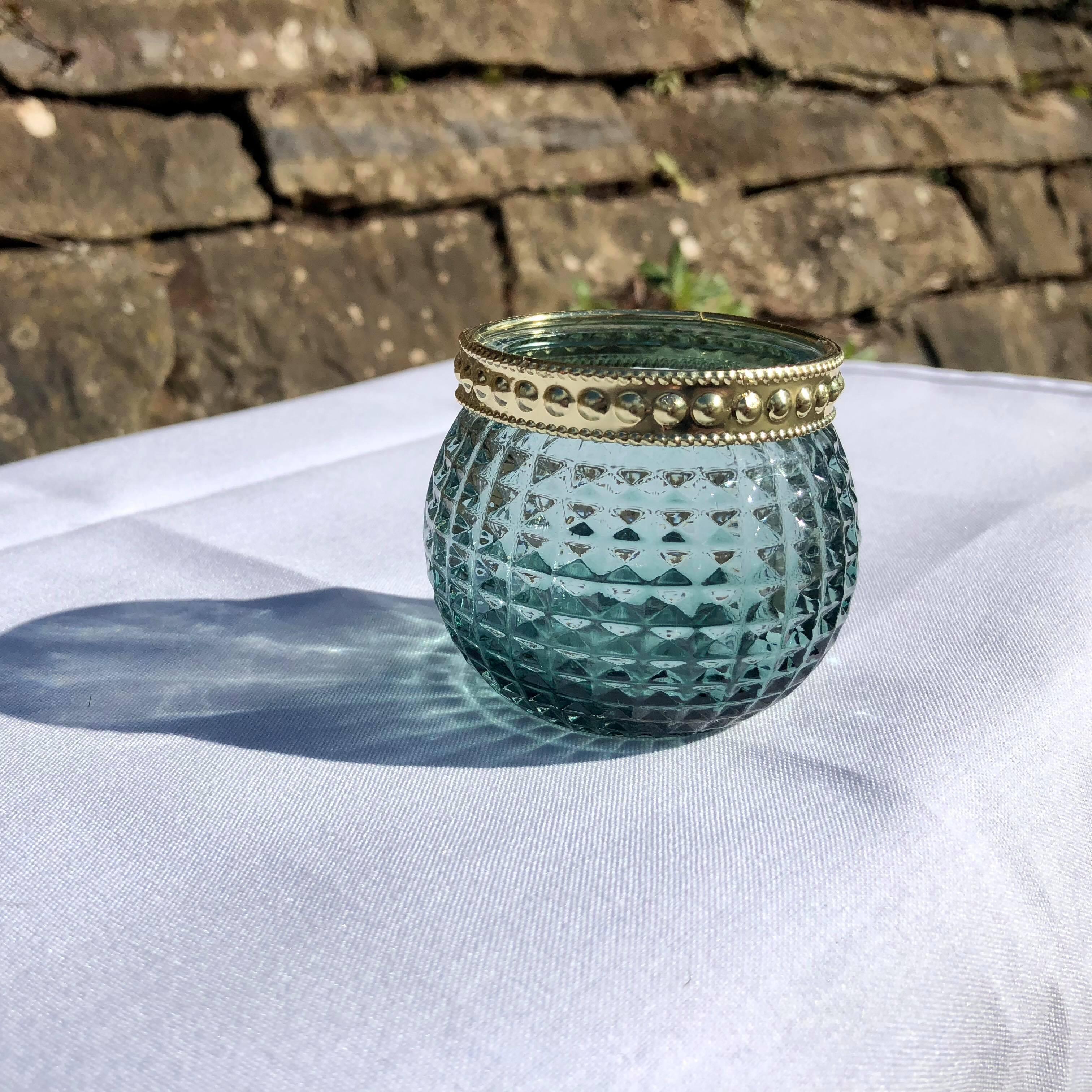 Green/Blue Tealight