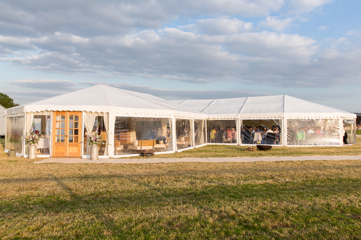 Clear Span Marquee With Panoramic Windows