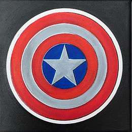 Hommage à Marvel (3) - Captain America