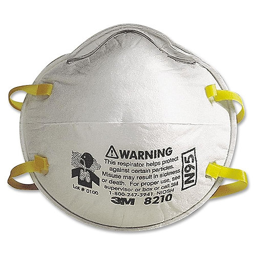 Respiratory Protection -3M 8210 Particulate Respi