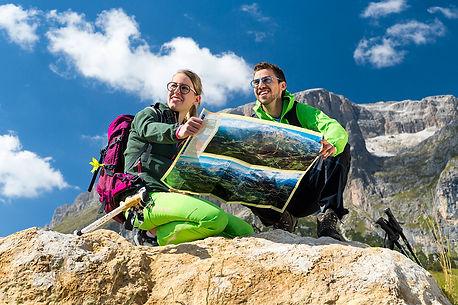Urlaub im Sommer Dolomiten