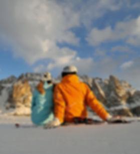 Urlaub im Winter Arabba Dolomiten