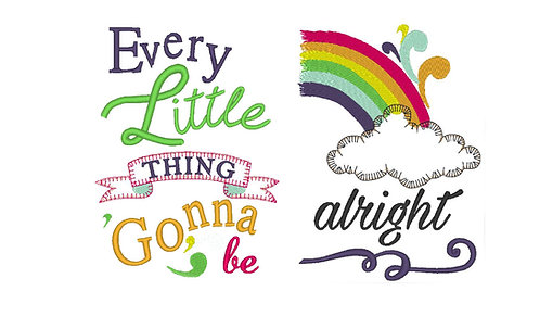 Covid19 - Every Little Thing Gonna be alright - 5x7 8x12