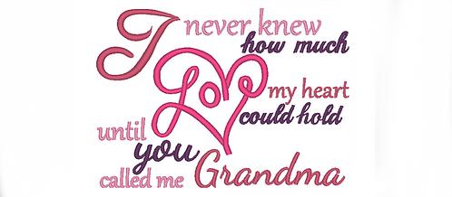 Grandma saying - Until you called me grandma 5x7 6x10