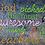 Thumbnail: Awesome Teachers Embroidery, 4x4, 5x7, 6x10