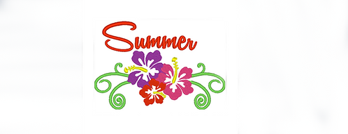 Summer Flowers, Hawaiian Flowers and Summer - 5x7