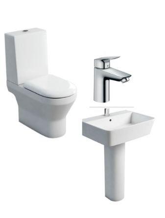 Curve Toilet Set