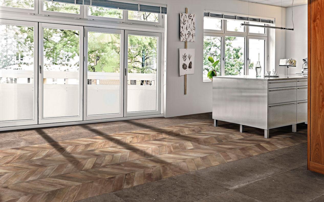 Whole Chevron Wooden Tiles