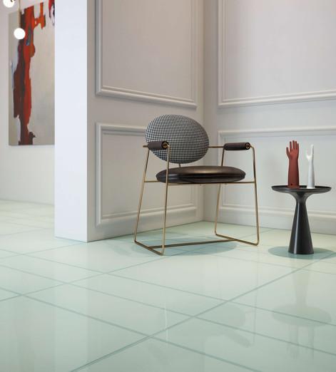 Vetri Acqua 60x60 20x60 Lucido Glass Eff