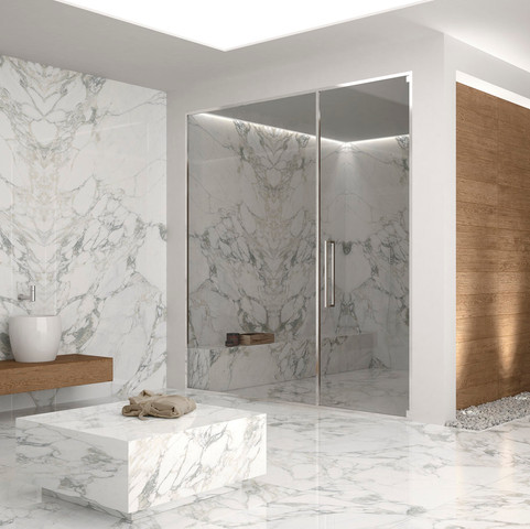 Arabescato Large Format Tiles