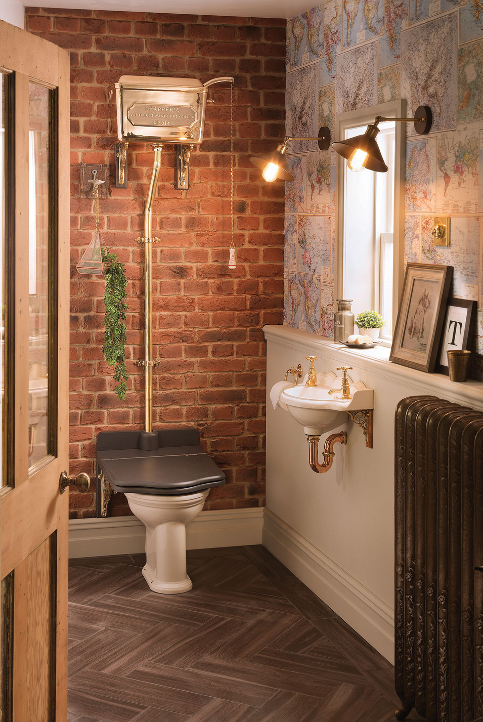 Thomas Crapper Cloakroom Set