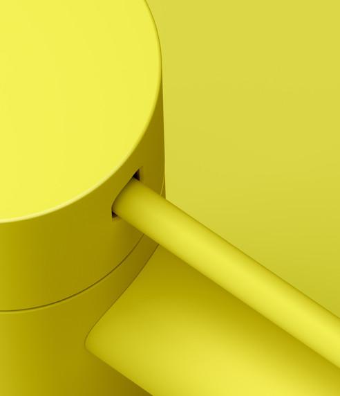 Dornbracht Meta Yellow Basin Tap