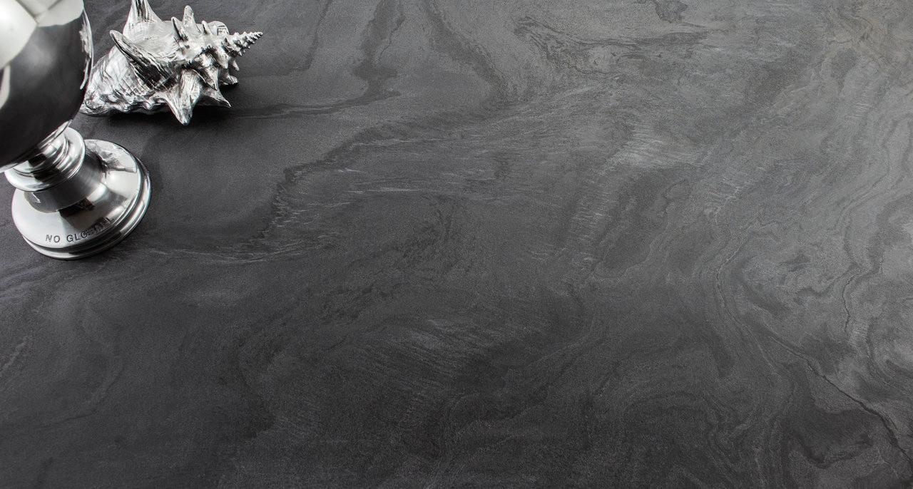 Liquid Stone Black Floor Tiles