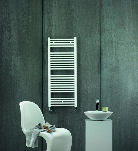 Zehnder Aura Heated Towel Rail -White