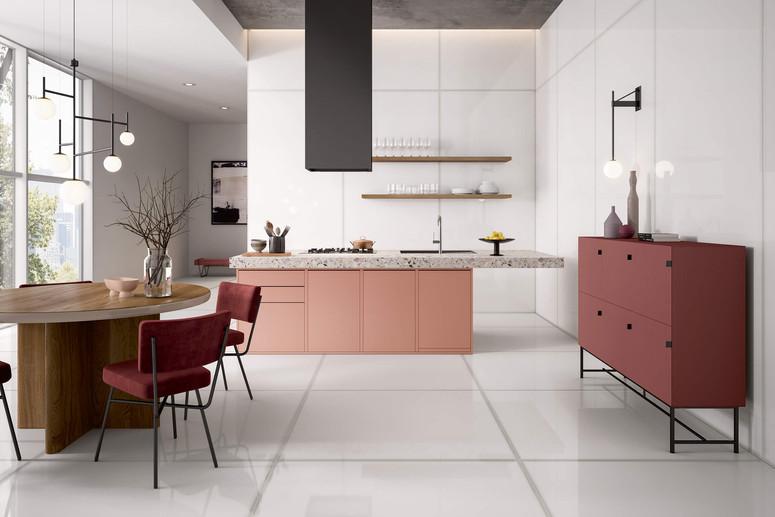 Vetri Lux Bianco 120x278 Glass Look Tile
