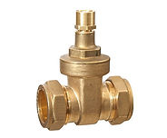 Brass Compression Lockshield Gate valves